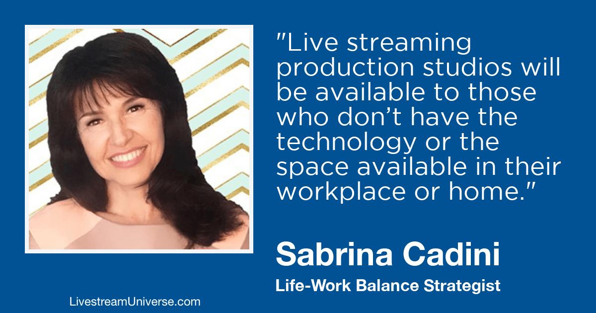 Sabrini Cadini livestream universe 2019 predictions