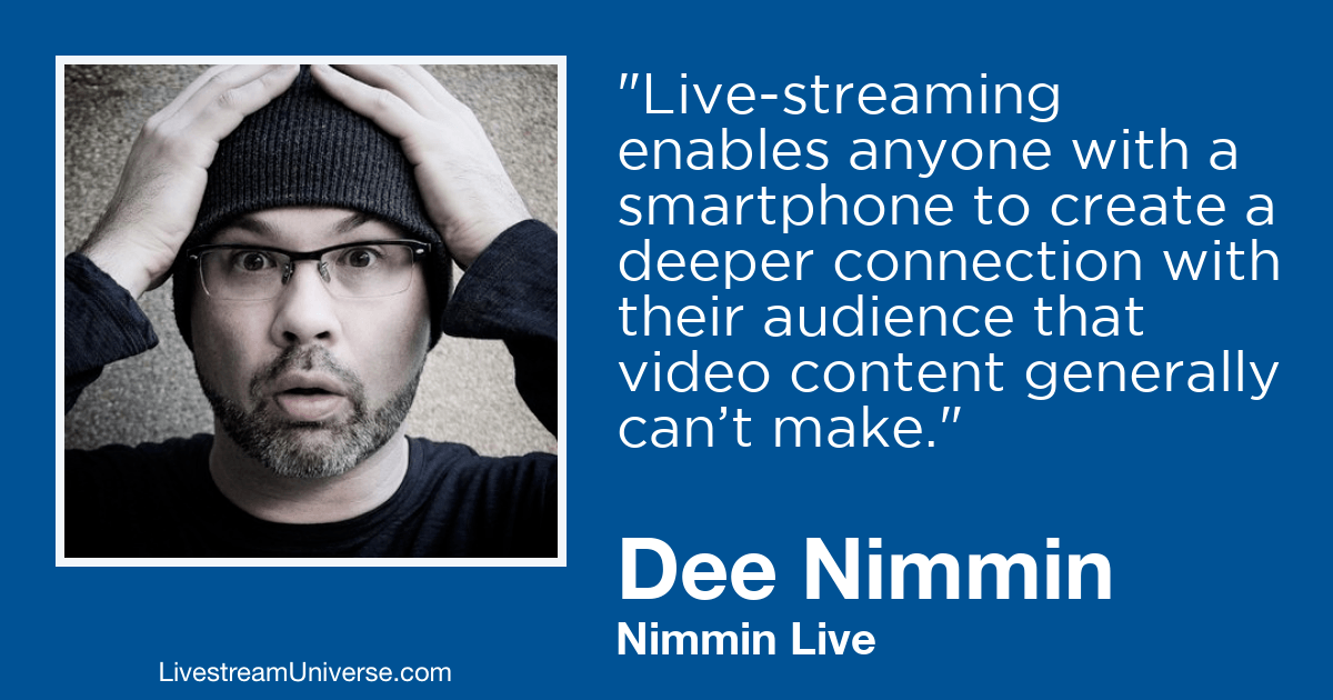 dee nimmin 2019 prediction livestream universe