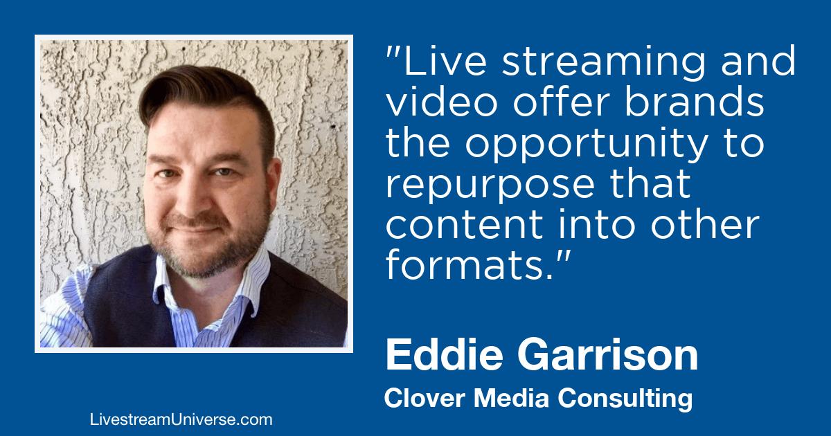 eddie garrison video 2019 prediction livestream universe