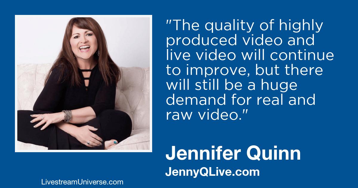 jennifer quinn jennyq 2019 predictions livestream universe