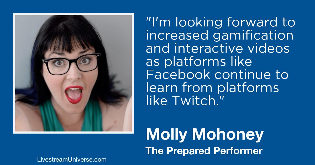 molly mahoney livestream universe 2019 predictions