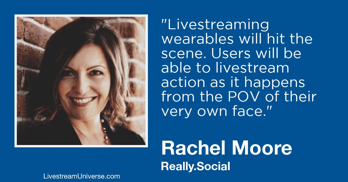 rachel moore livestream universe 2019 predictions