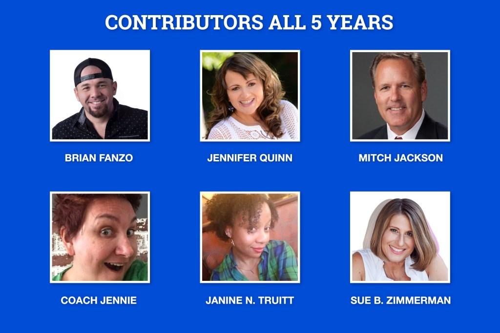 livestream universe 2020 5 year contributors