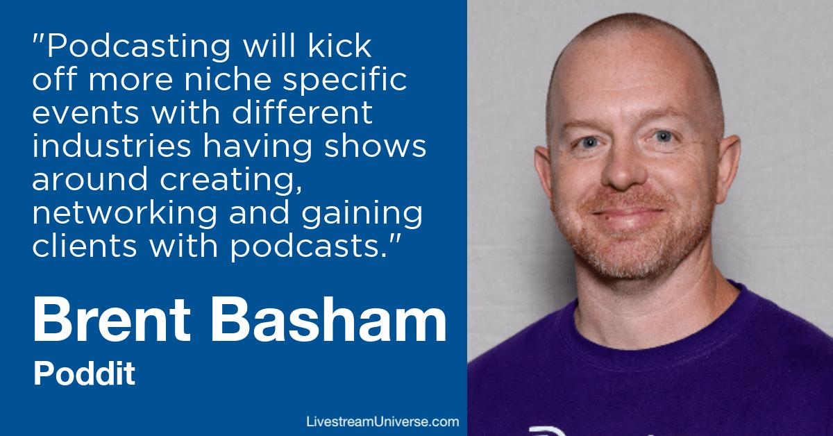 Brent Basham Poddit Livestream Universe Predictions 2020