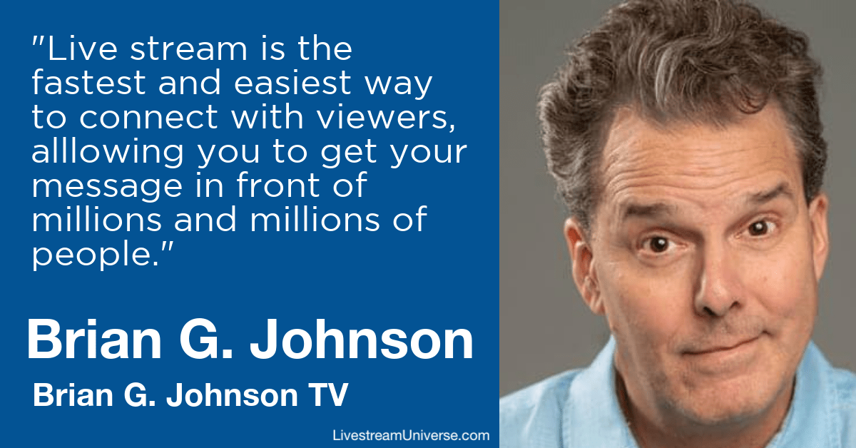 Brian G Johnson TV Livestream Universe Predictions 2020