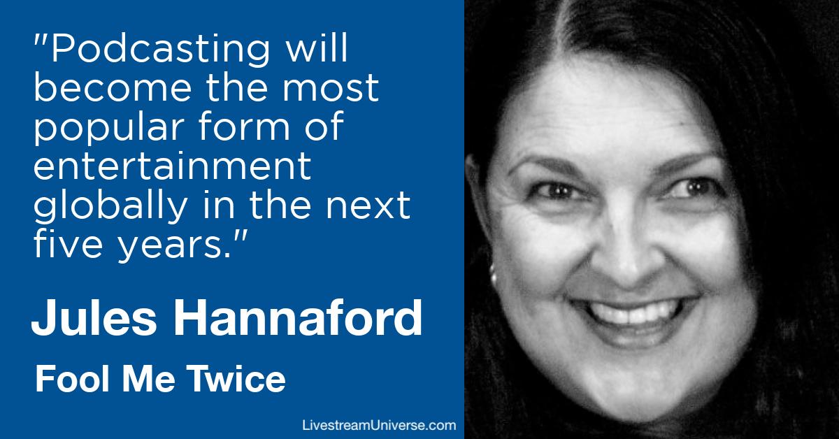 Jane Hannaford Fool Me Twice Livestream Universe Predictions 2020