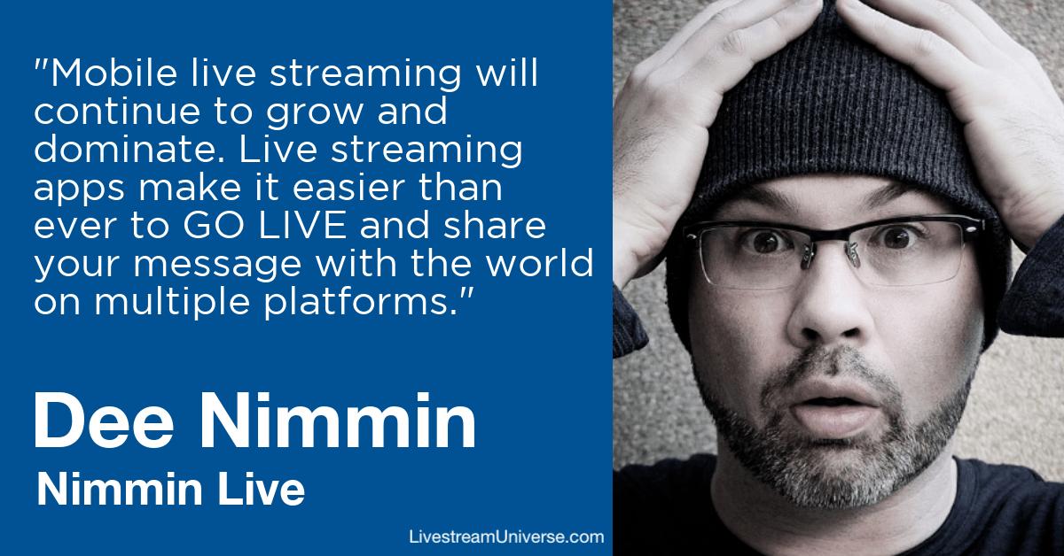 dee nimmin live livestream universe predictions 20202