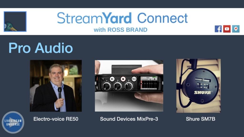 ross brand pro audio