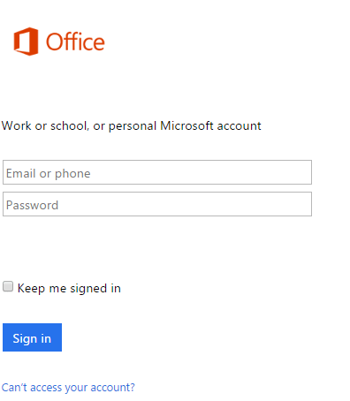 download and install Microsoft office
