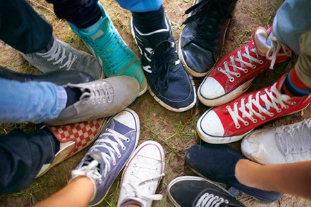 """Image result for Picture of people wearing sneakers"""""""