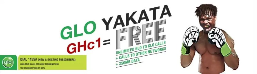 Subscribe to enjoy Glo Yakata Offer