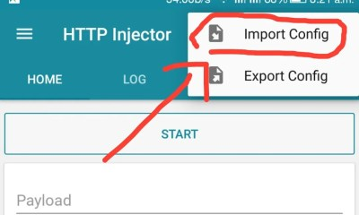 New config file for HTTP Injector (MTN Free Browsing 2018)