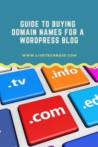 How to Buy a Domain Name for WordPress Blog