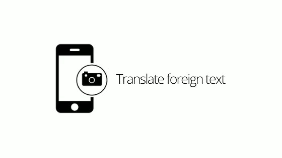 Translate foreign text