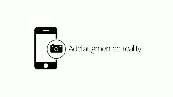 Add augmented reality