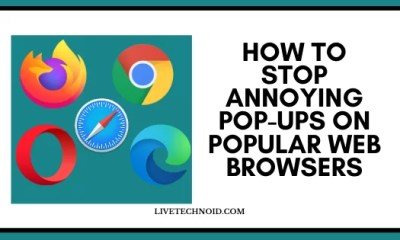 Stop Annoying Pop-ups on Popular Web Browsers