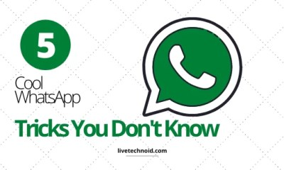 5 Cool WhatsApp Tricks You Don't Know