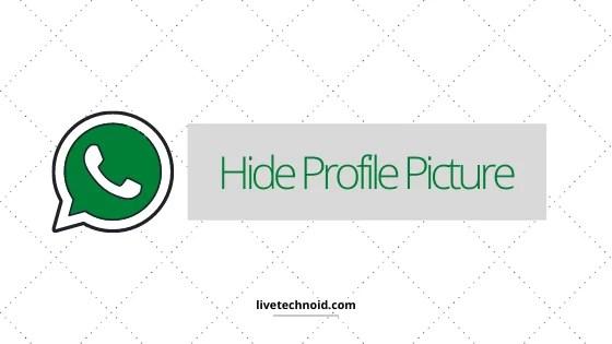 Hide Profile Picture
