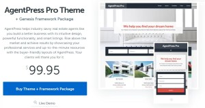 Latest AgentPress Pro Genesis Child theme free download