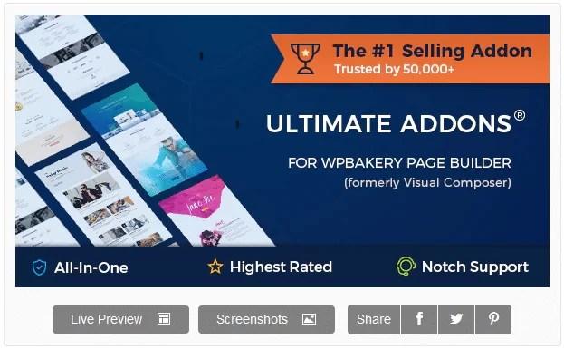 Ultimate Addons for WPBakery WordPress Page Builder v3.19.9 Download