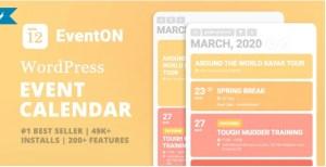 EventON v3.1.3 Premium WordPress Event Plugin Free Download