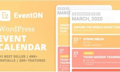 Download EventON v2.8.9 Premium WordPress Event Calendar Plugin