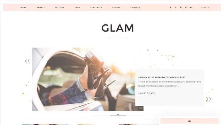 Download Glam Pro v1.0.3 Genesis Child WordPress Business Theme