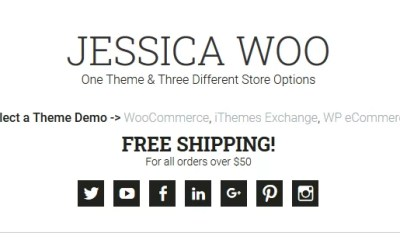 Download Jessica v1.8.1 Premium WordPress Genesis Child Theme