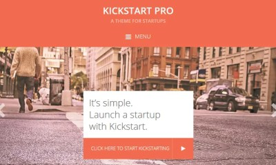 Download Kickstart Pro v1.3.7 Genesis Child Business Theme