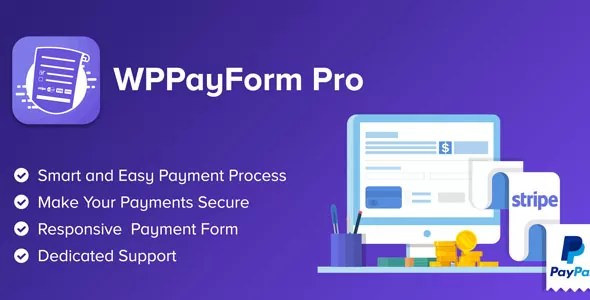 Download WPPayForm Pro v1.9.91 WordPress Payments Plugin