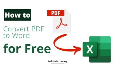 How to Easily Convert Documents from PDF to Excel Format