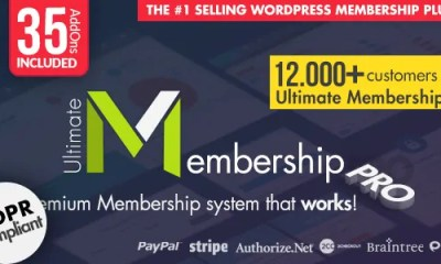 Download Ultimate Membership Pro v8.9 WordPress Membership Plugin