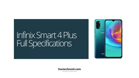 Infinix Smart 4 Plus Full Specifications