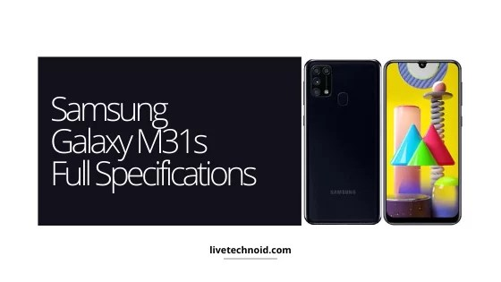 Samsung Galaxy M31s Full Specifications