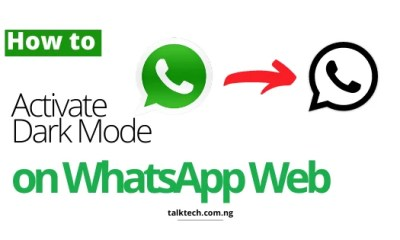How to Activate Dark Mode on WhatsApp Web