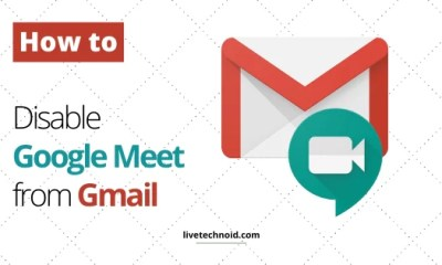 How to Disable Google Meet from Gmail