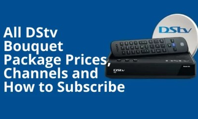 All DStv Bouquet Package Prices, Channels and How to Subscribe