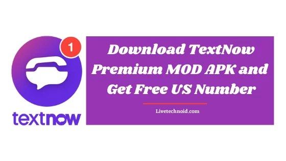 Download TextNow Premium MOD APK and Get Free US Number