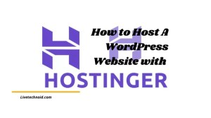 How to Host A WordPress Website with Hostinger in 5 Minutes