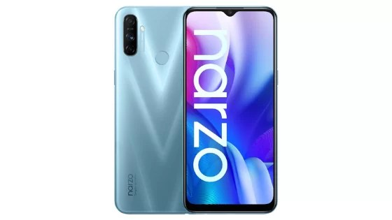 Realme Narzo 20A Full Specifications and Price