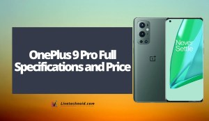 OnePlus 9 Pro Full Specifications and Price