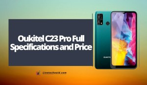 Oukitel C23 Pro Full Specifications and Price