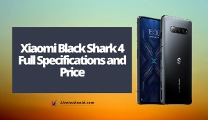 Xiaomi Black Shark 4 Full Specifications and Price