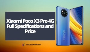 Xiaomi Poco X3 Pro 4G Full Specifications and Price