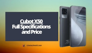 Cubot X50 Full Specifications and Price