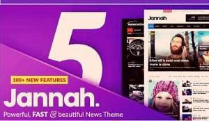 Jannah News v5.4.6 WordPress Theme Free Download
