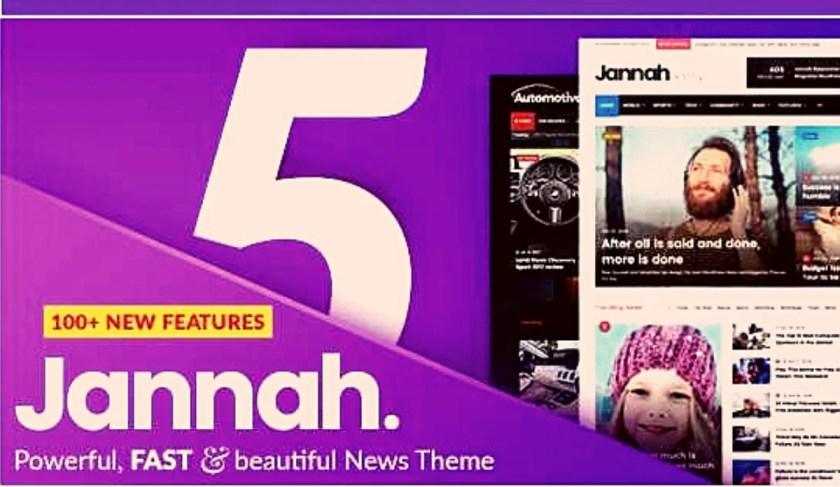 Jannah News v5.4.7 WordPress Theme Free Download