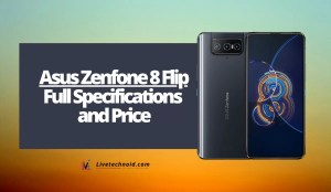 Asus Zenfone 8 Flip Full Specifications and Price