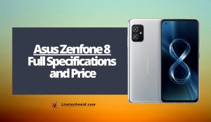 Asus Zenfone 8 Full Specifications and Price