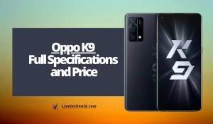Oppo K9 Full Specifications and Price